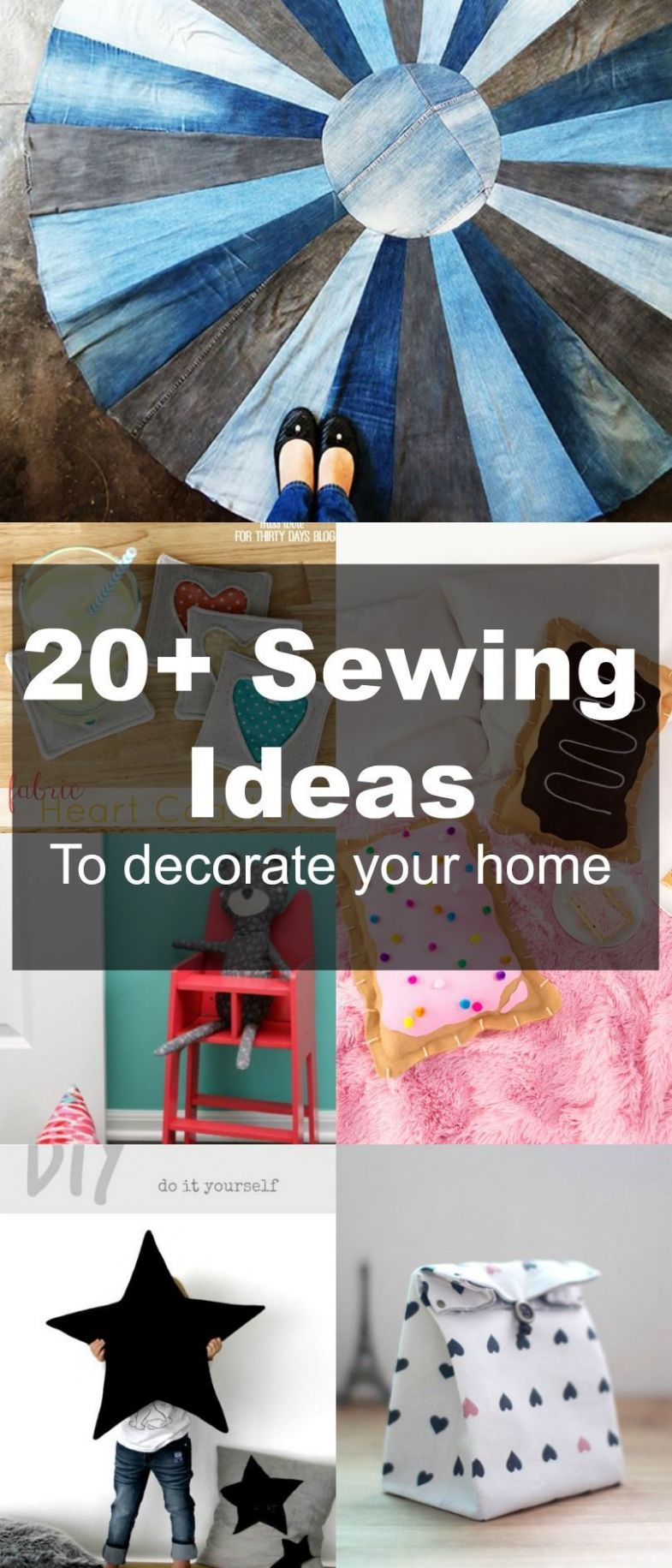 Pin on DIY Home Decor Sewing - diy home decor sewing projects