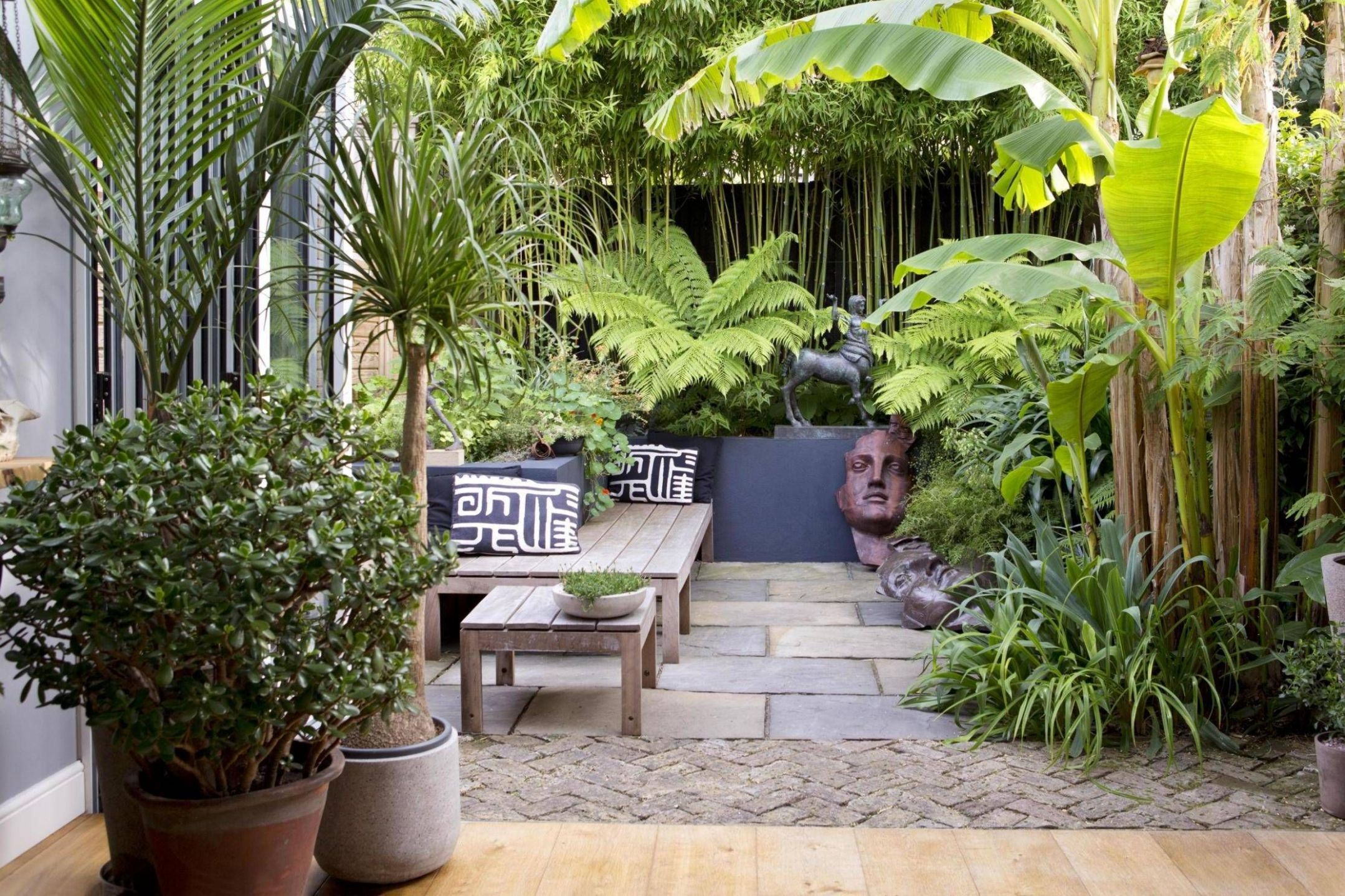 Pin on Garden - jungle backyard ideas