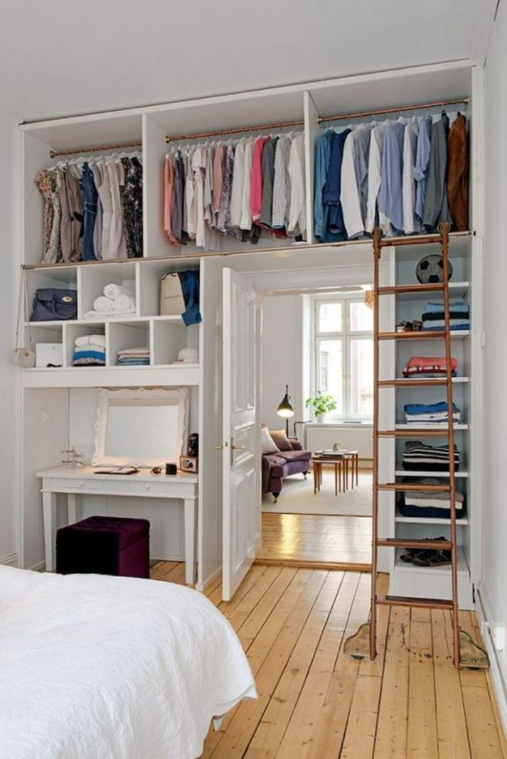 Pin on Office/Guest Room Ideas - closet ideas for guest room