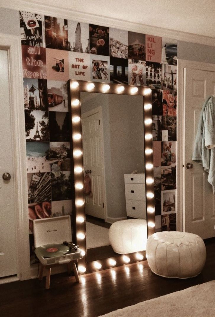 Pin on Vanity Mirror with Lights - makeup room lights