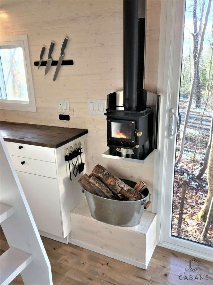 Placement and size of stove. | Gestaltung kleiner räume, Mikrohaus ..
