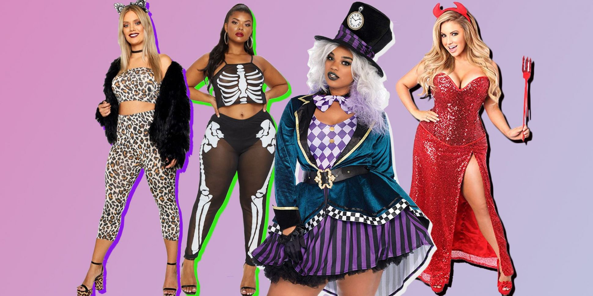 Plus Size Halloween Costumes - 8 Fancy Dress Costumes for Curves
