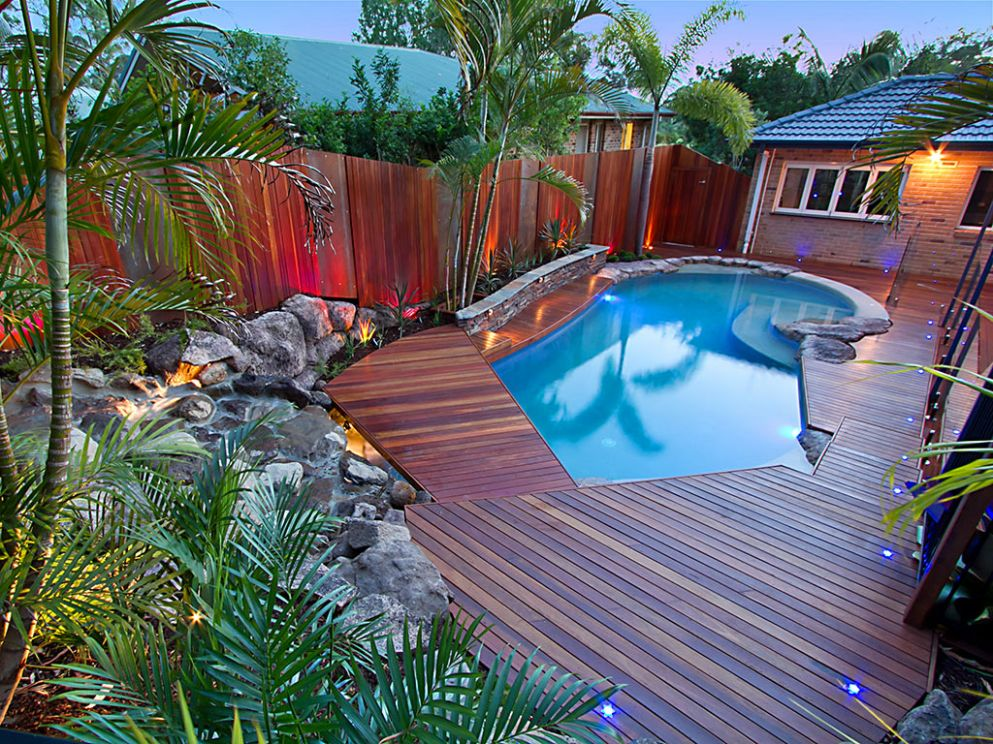 Pools & Surrounds May | Landscape Brisbane - pool landscaping ideas queensland