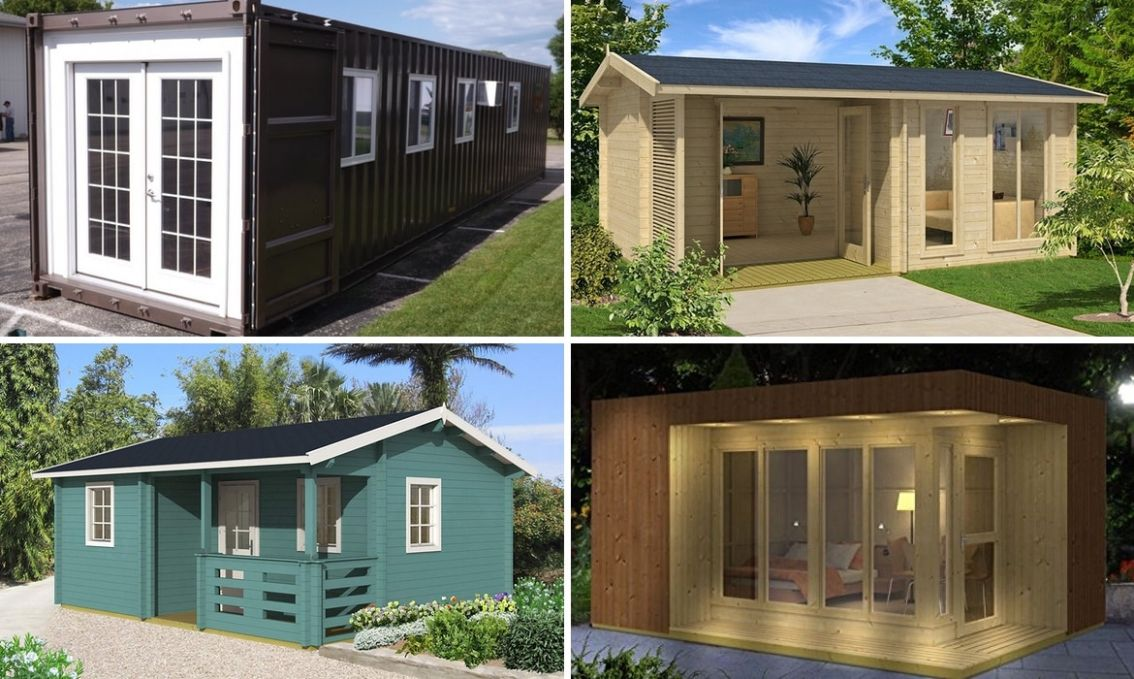 Prefabricated Tiny Homes Available for Sale on Amazon - tiny house kits