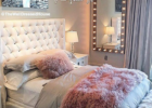 Pretty Pink-Grey Style Bedroom Design | Bedroom decor, Home decor ...