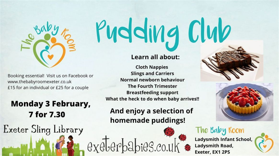 Pudding Club at The Baby Room, Exeter