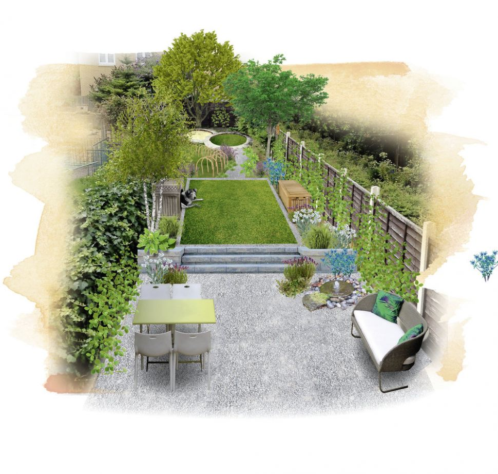 Q. Can you help me create an attractive dog-friendly garden ..