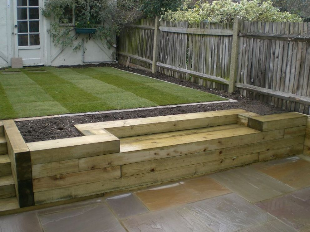 railway sleepers « Garden Gurus, Landscape Gardening in South ..