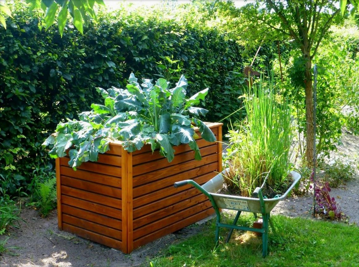 Raised Bed Gardens and Small Plot Gardening Tips | The Old ..