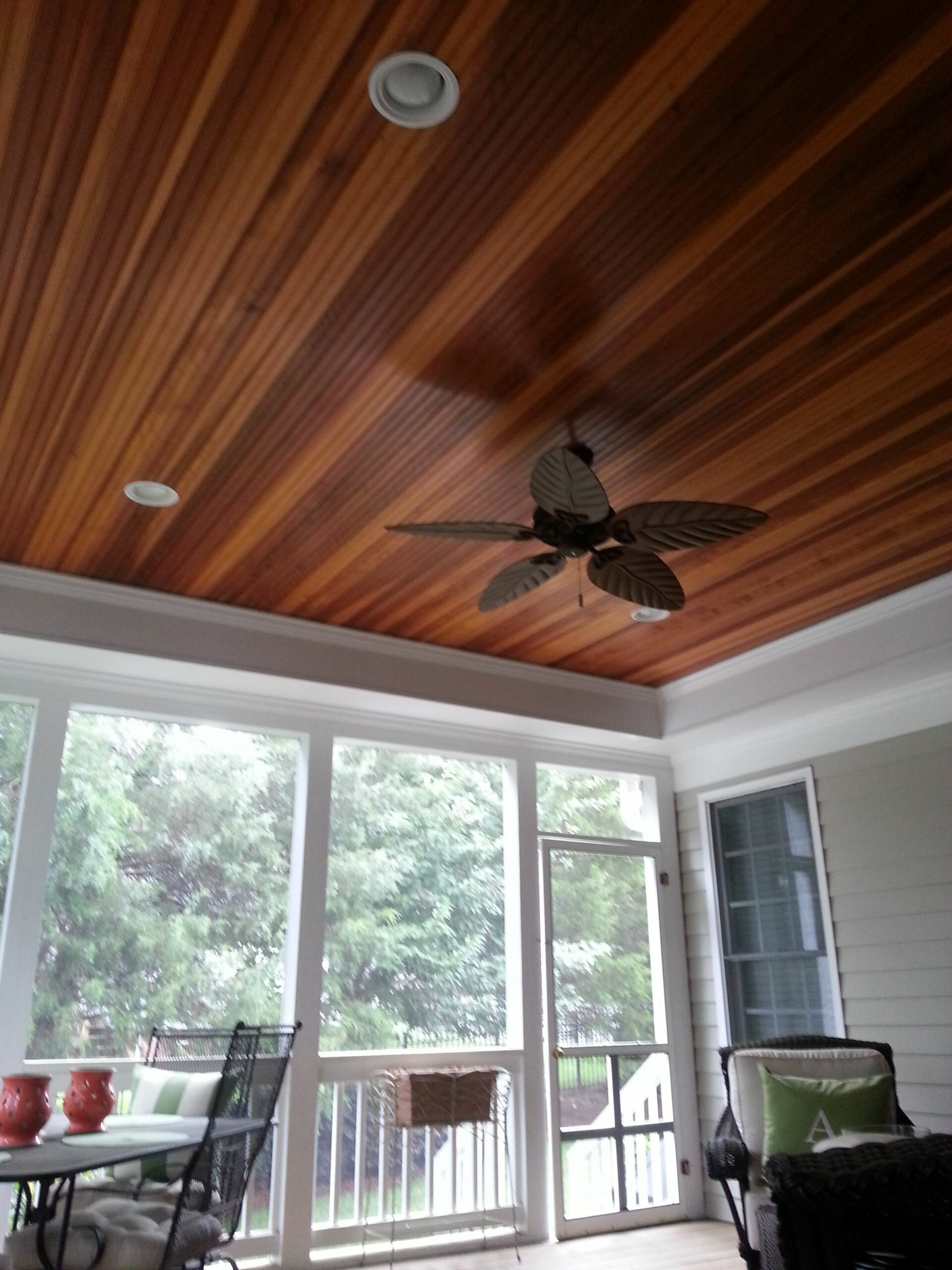Redwood Beadboard | Vinyl beadboard, Patio ceiling ideas, Porch ..
