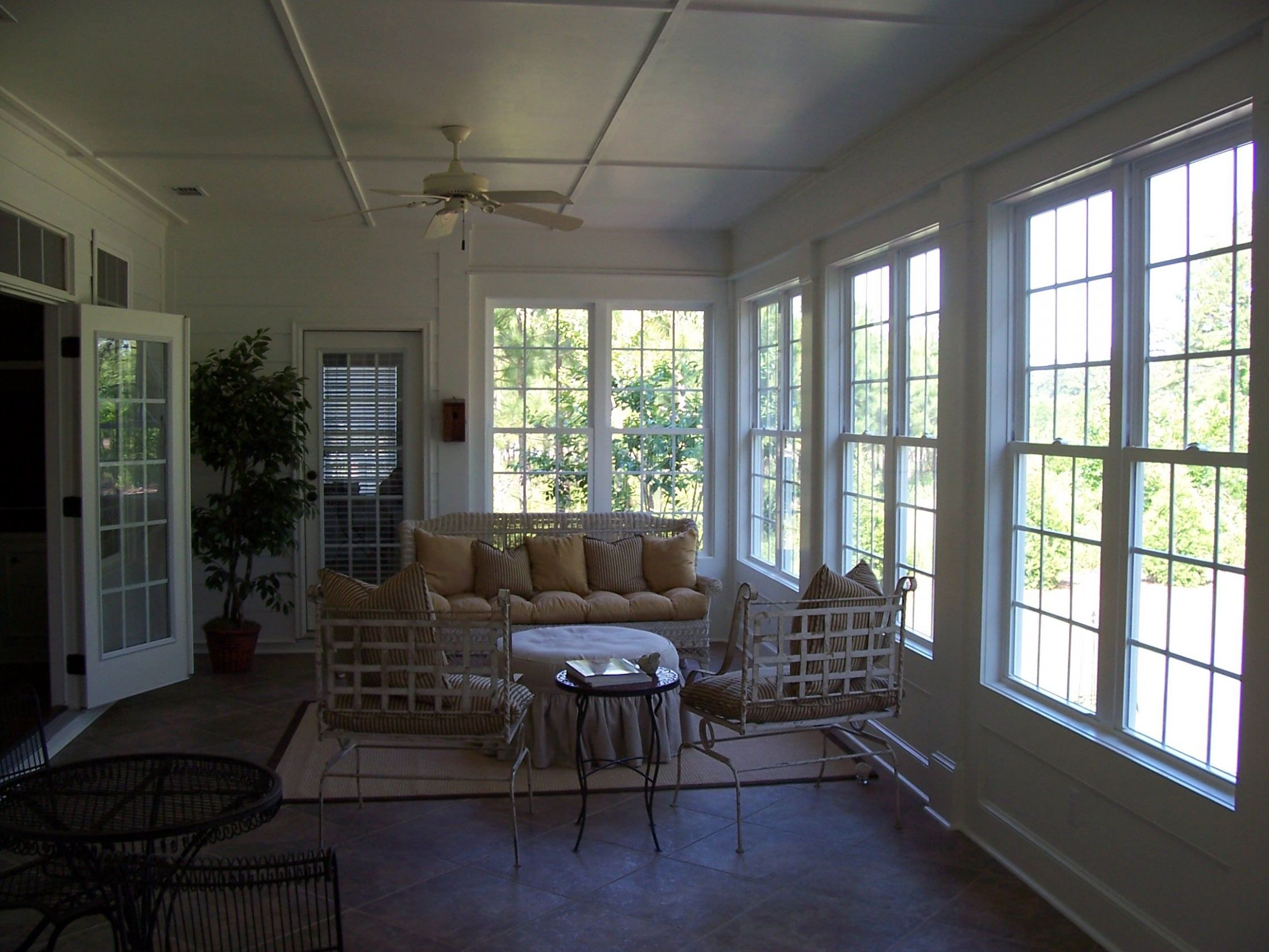 Remodel project - Screen Porch before being converted into a ...