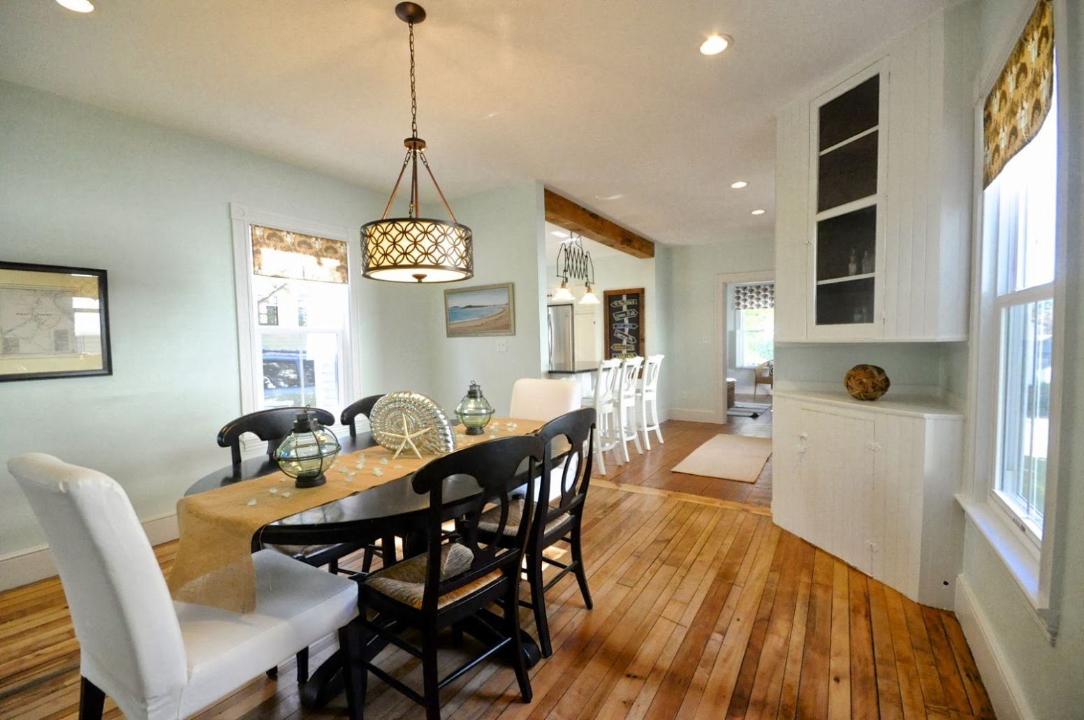 Remodelaholic   Creating an Open Kitchen and Dining Room - dining room renovation ideas