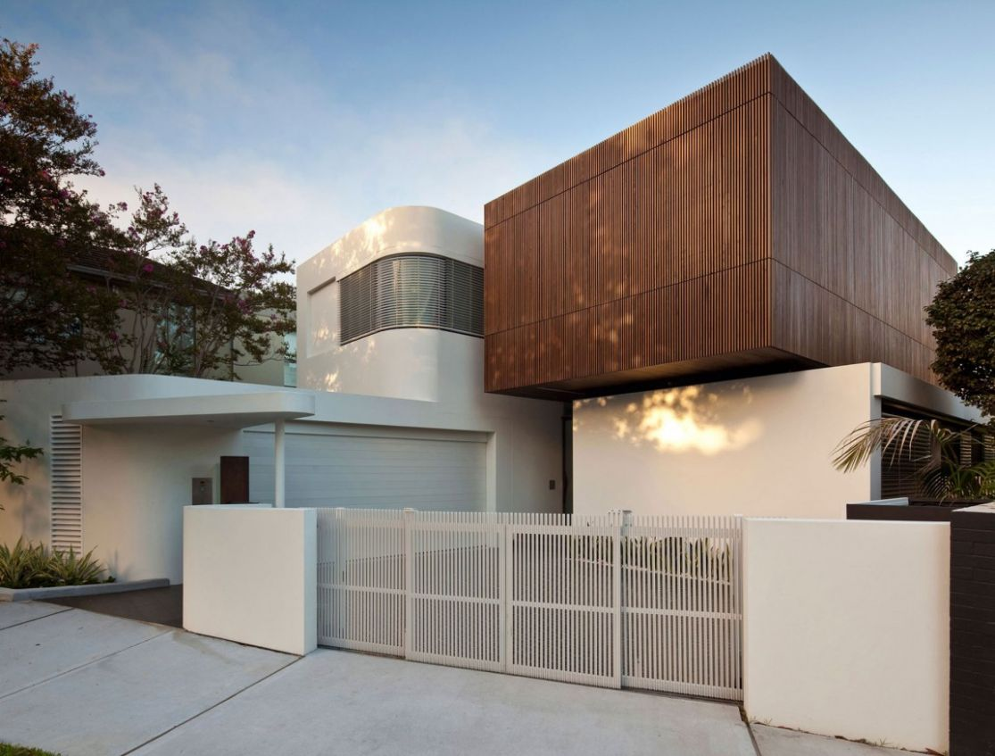 Residential Architecture Inspiration: Modern Materials: White + ...