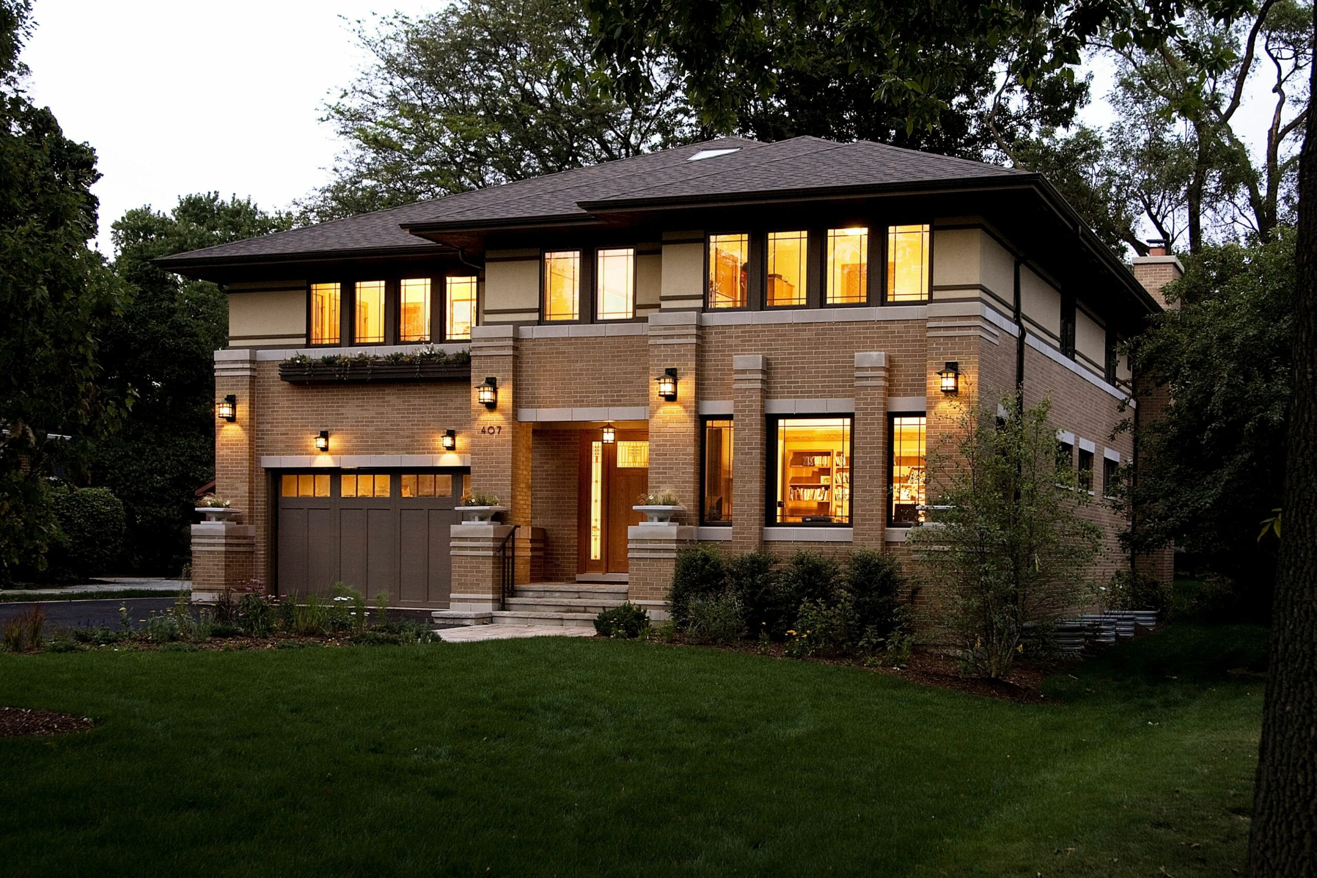 Residential Gallery (With images) | Prairie style houses, House ...