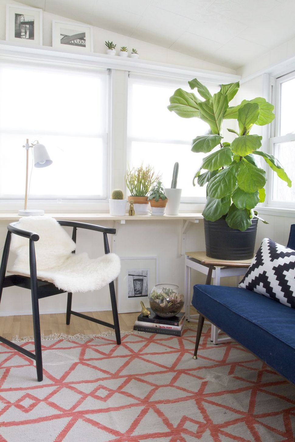 Reveal : The Sunroom - It's Done | Living room update, Space ...