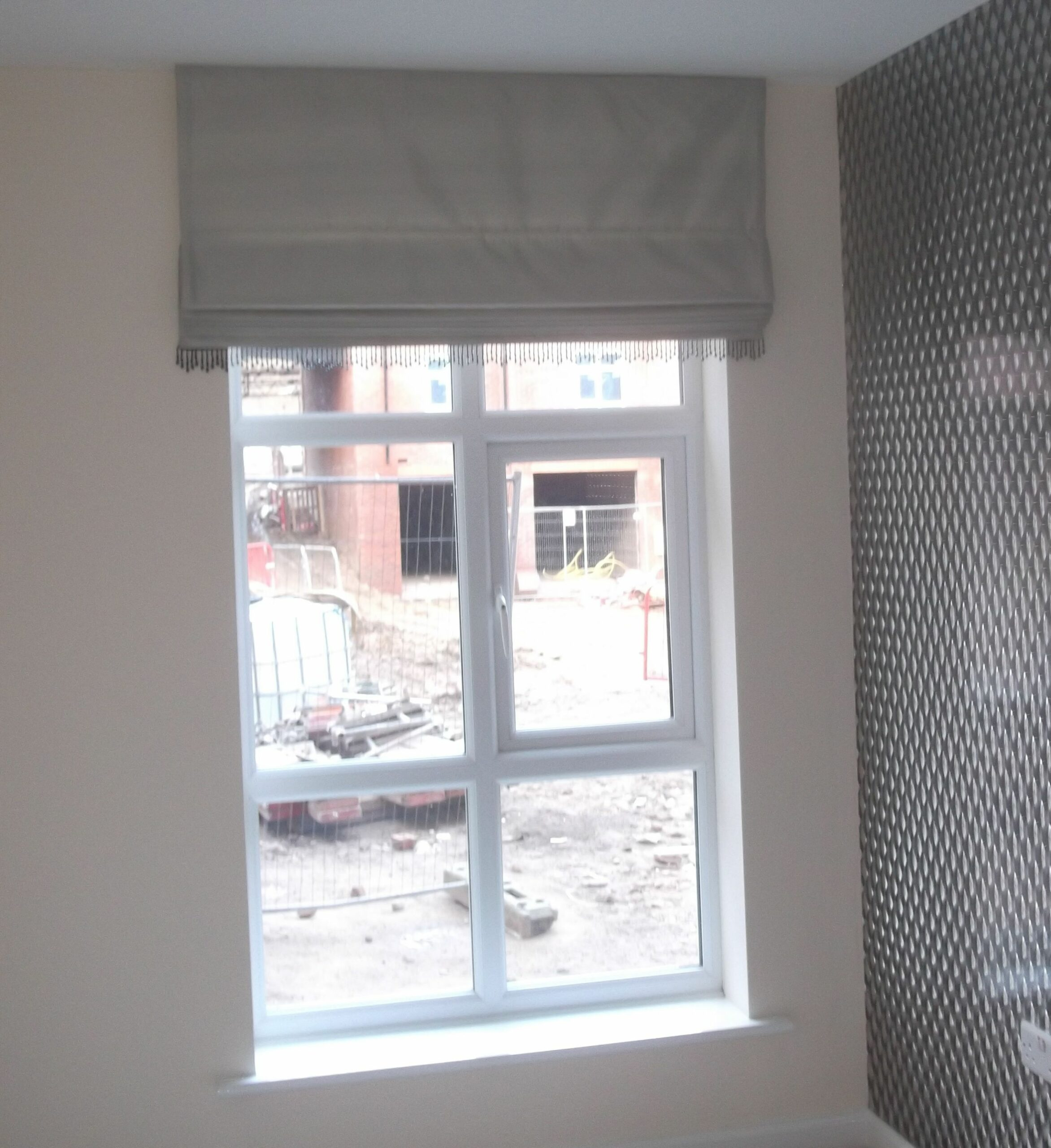 Roman Blind - idea for hallway/kitchen windows | Modern blinds ...