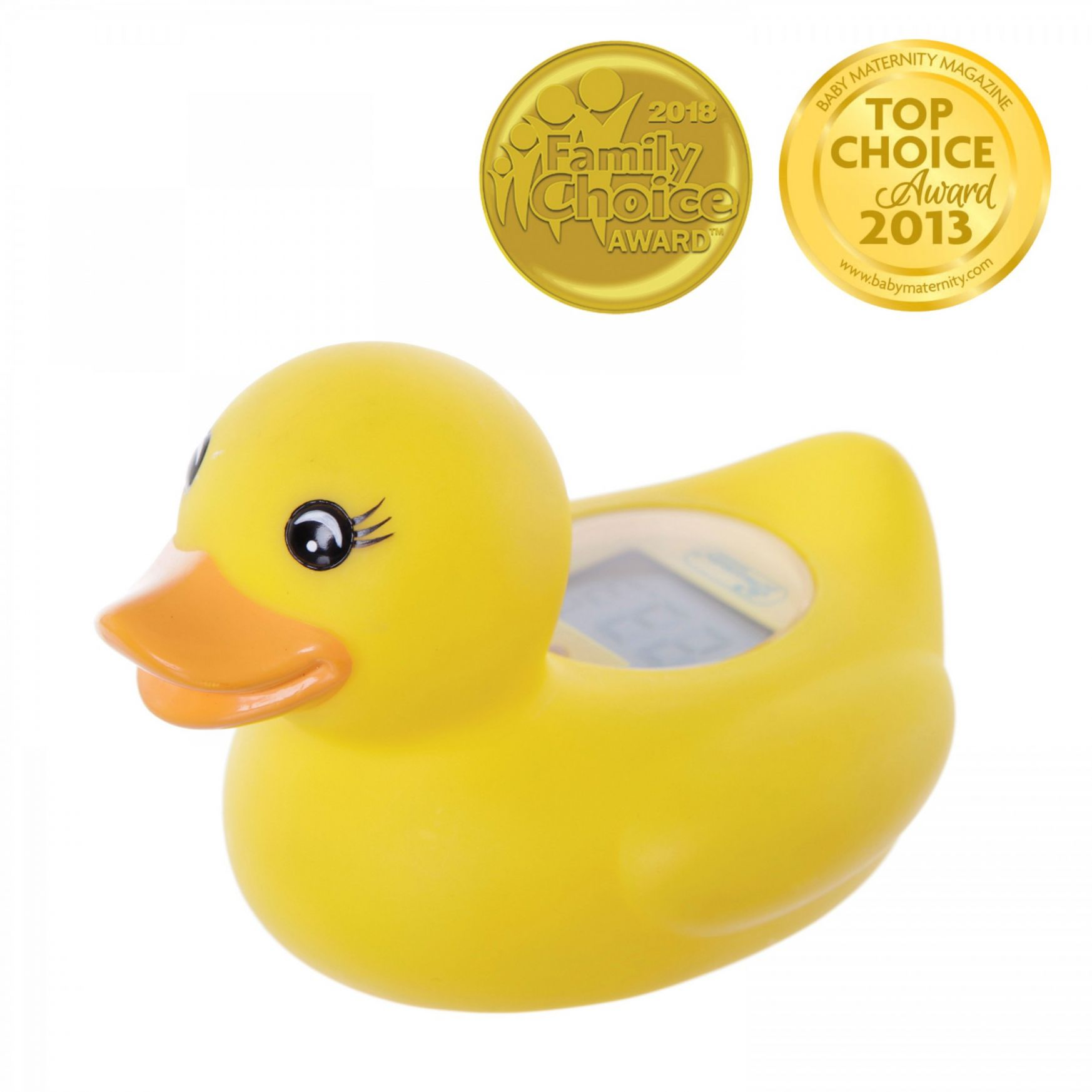 Room & Bath Thermometer - Duck - baby room and bath thermometer