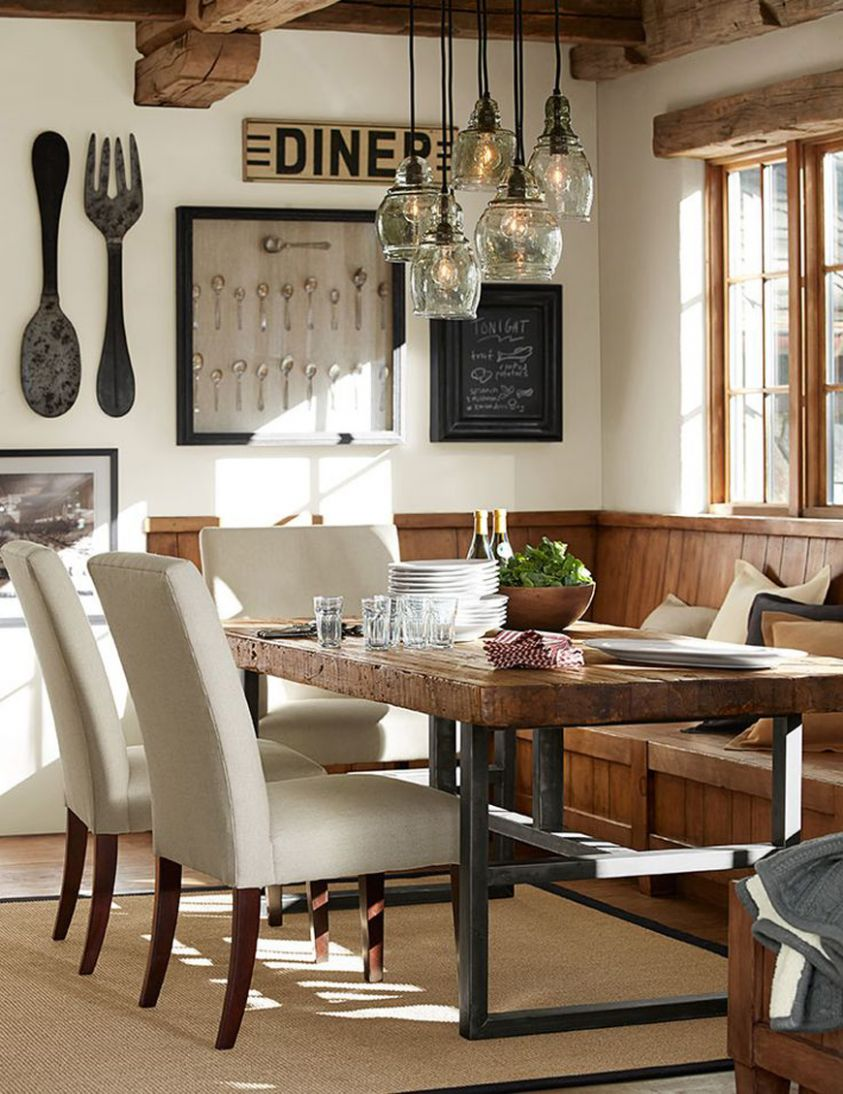 Rustic Dining Room Ideas Country Cottage Farmhouse And Spaces ...