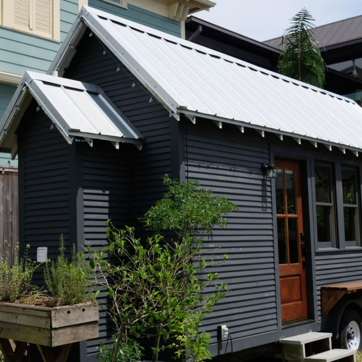 Rustic Minimal Tiny House on Wheels - Tiny House for Sale in Victoria,  Texas - Tiny House Listings - tiny house victoria