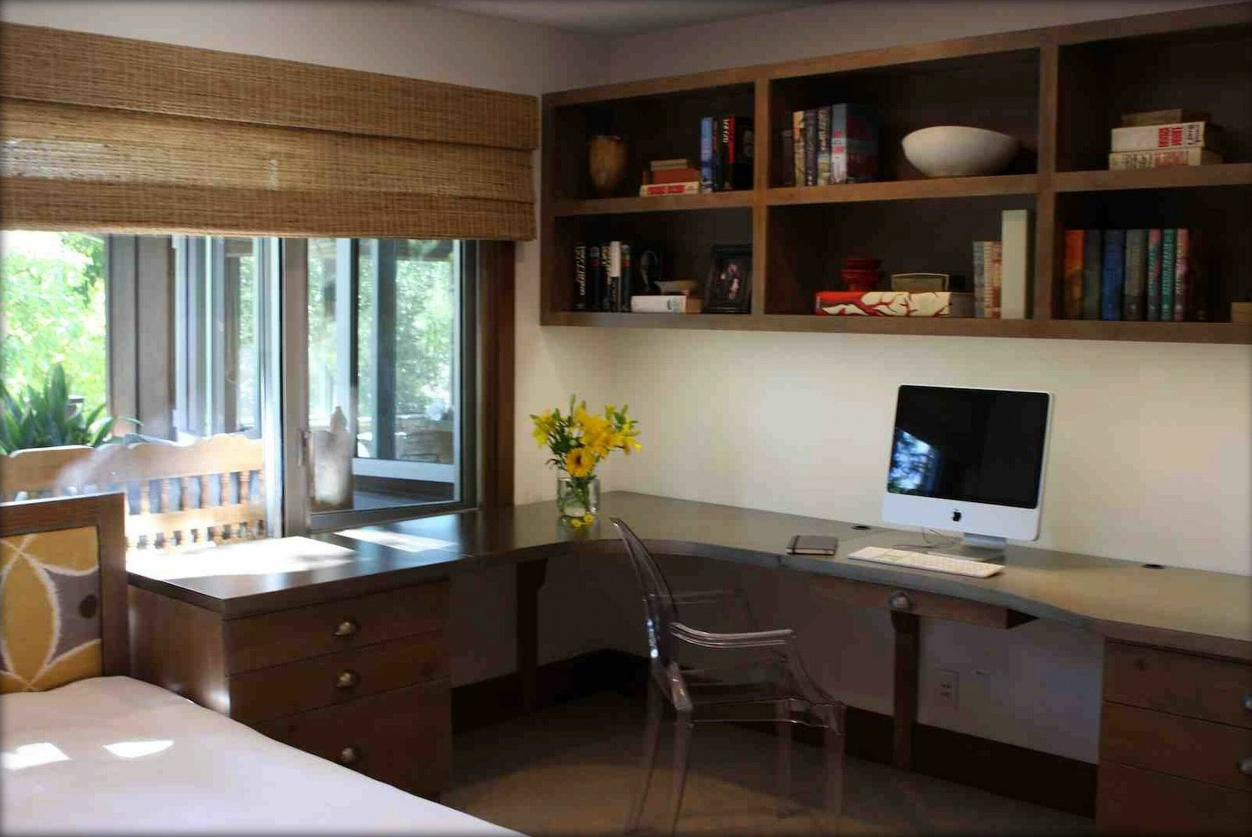 Rustic Style Office Building Designs | Cheap home office, Rustic ...