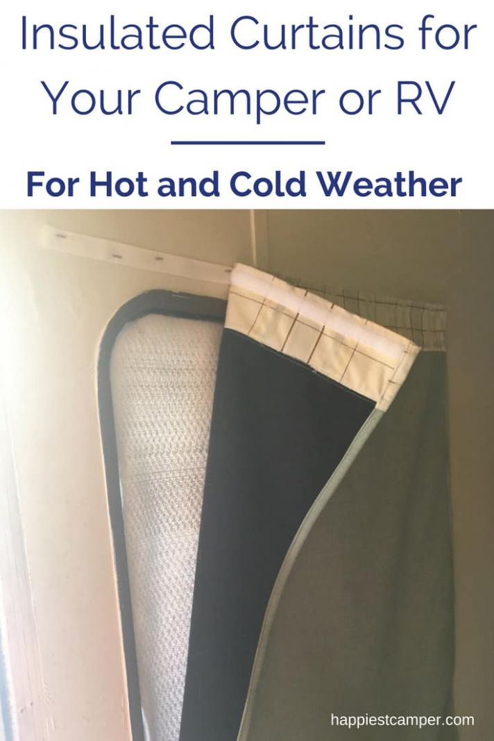 RV Window Coverings for Temperature Control - Happiest Camper - window insulation ideas