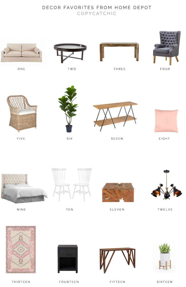 Sale Alert | Decor Faves from the Home Depot - copycatchic - home decor home depot