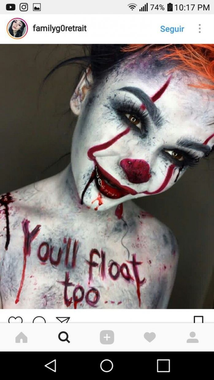 Scary Af /// Pinterest: YourGirlCC /// Board: Female Halloween ..