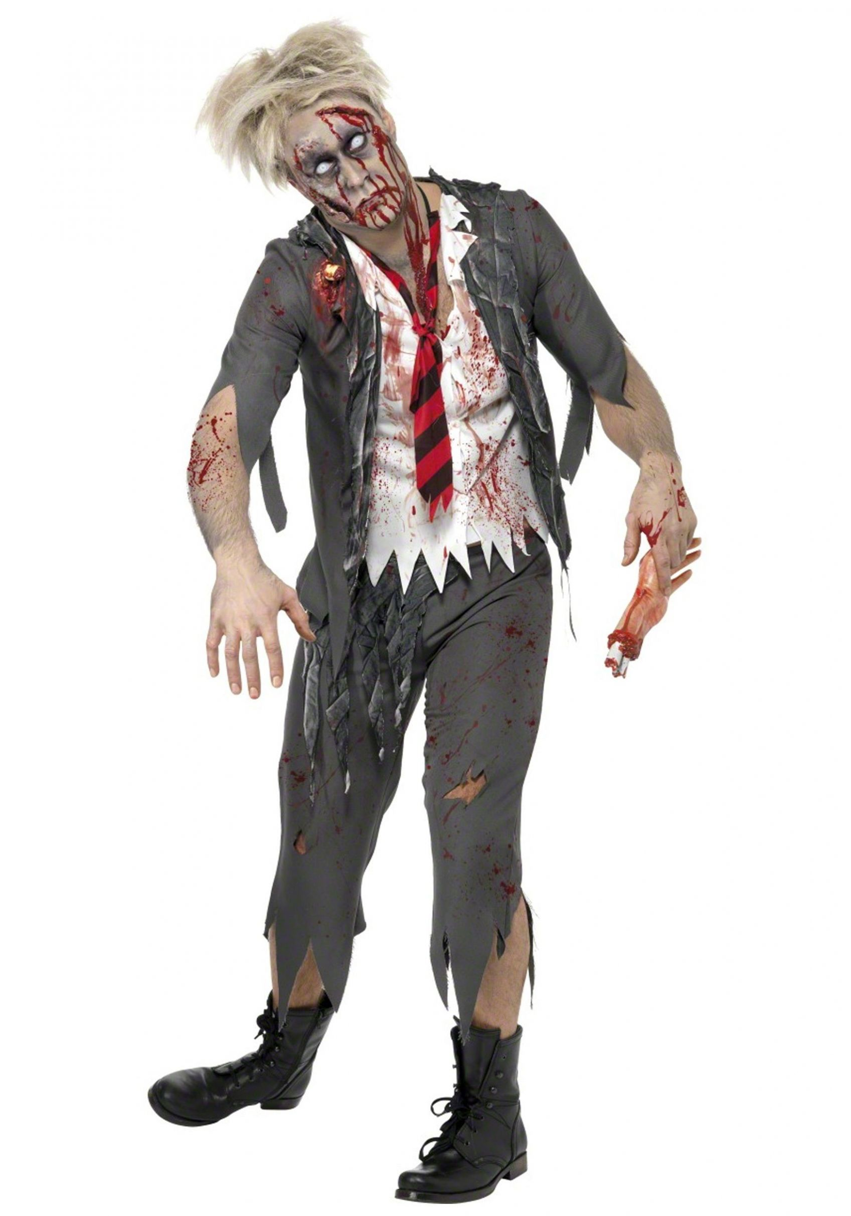 School Boy Adult Zombie Costume - Mens Zombie Costumes | Zombie ..