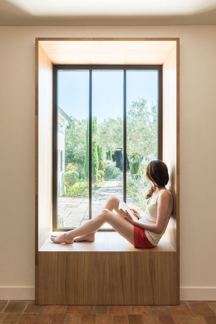 Seating Ideas – Build A Window Seat Into An Unused Wall Area ..