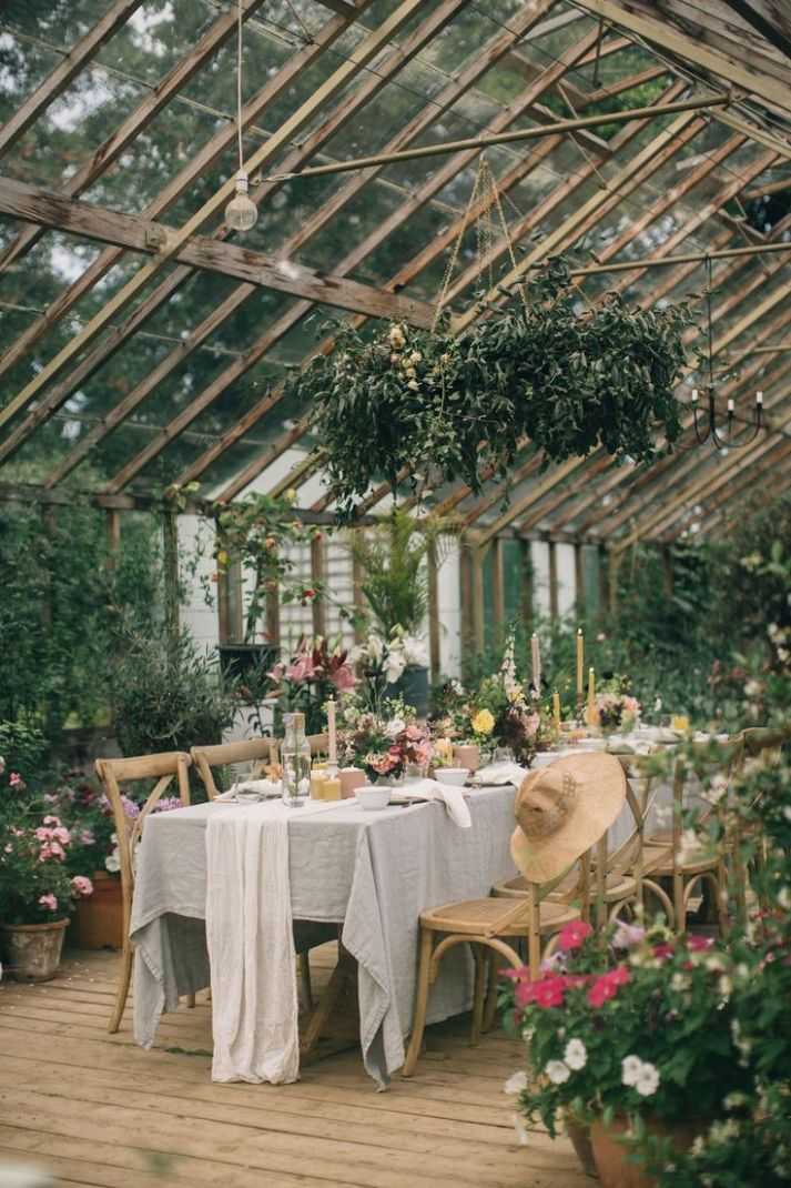 Secret Garden Wedding Inspiration at an 10th Century Irish ..