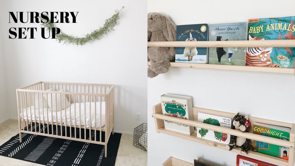 SETTING UP THE NURSERY - baby room set up