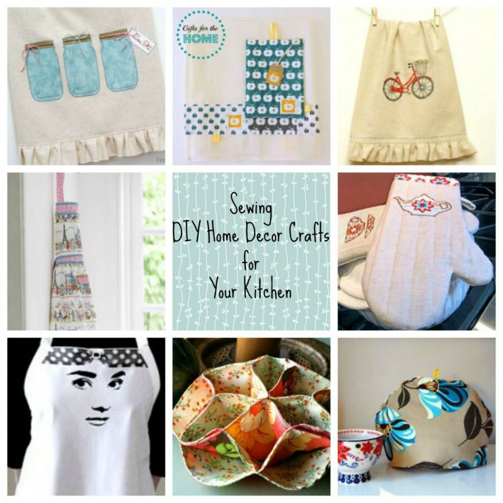 Sewing DIY Home Décor Crafts for Your Kitchen - FaveCrafts - diy home decor sewing projects