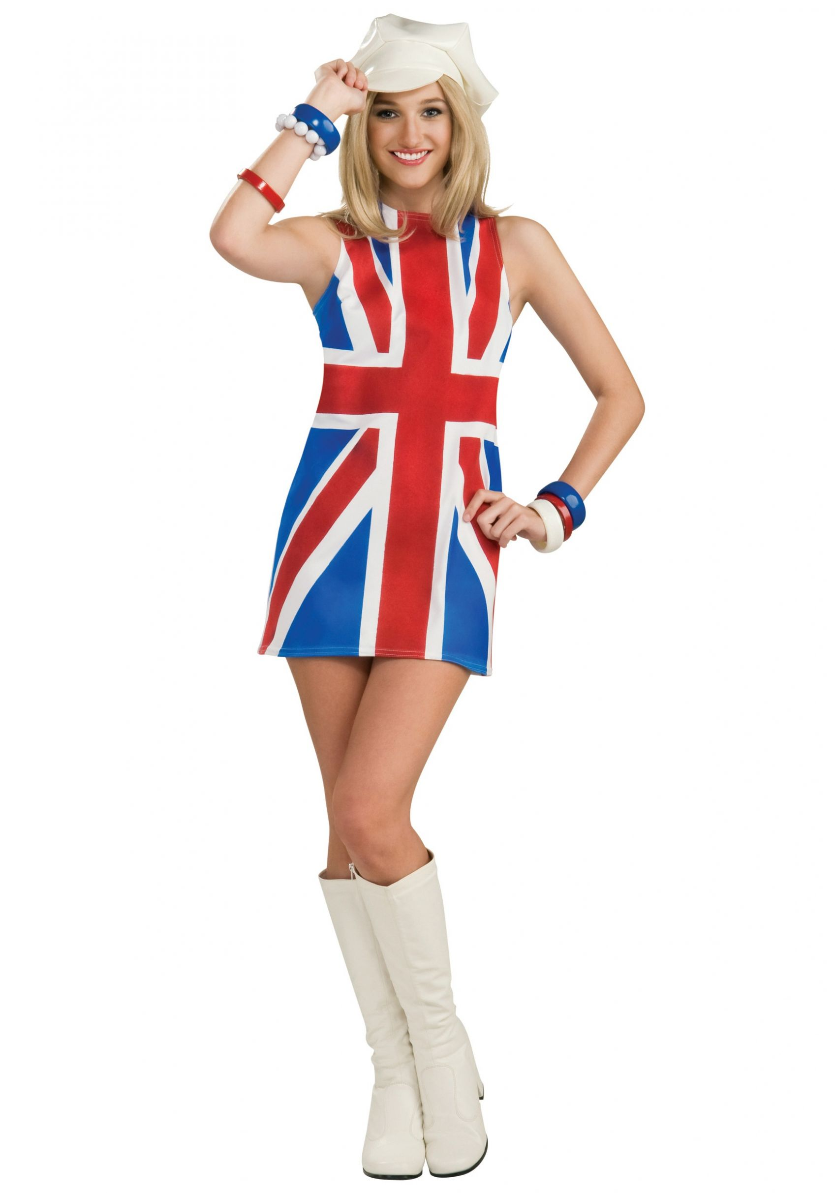 Sexy British Invasion Costume - halloween ideas uk
