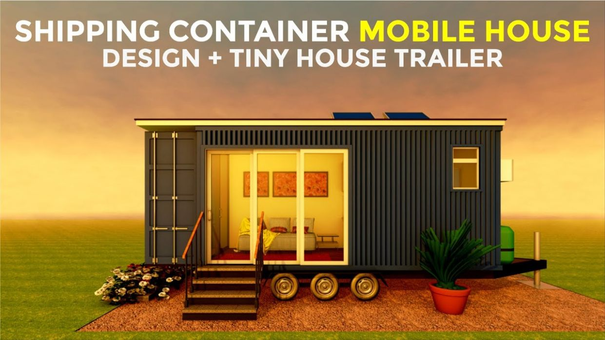 Shipping Container House on Wheels with Tiny House Trailer Design | Tiny  Living | CAMPERBOX 11