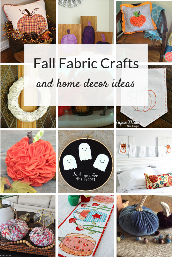 Simple Fall Fabric Crafts | Fabric crafts, Sewing classes for ..