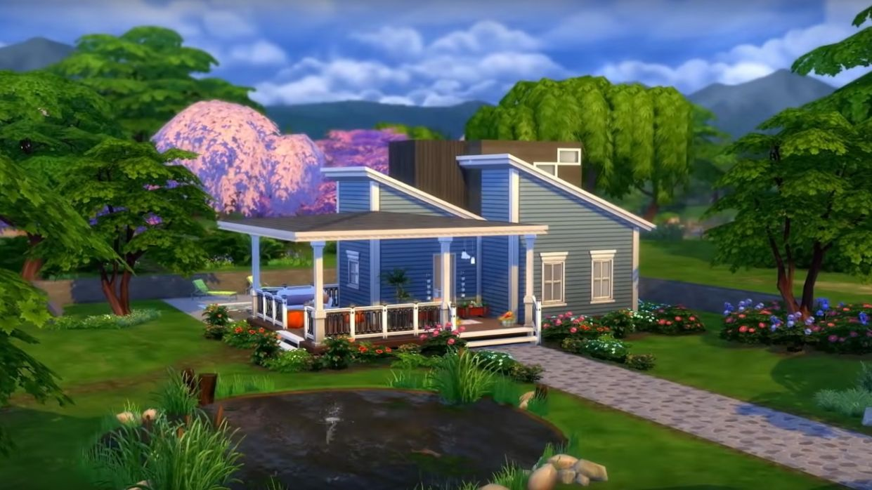 Sims 11 fordert mit Tiny Living eure Architektur-Skills - tiny house sims 4