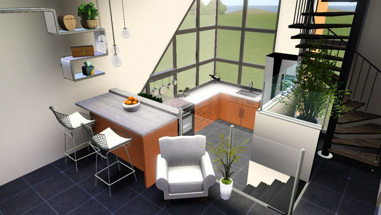 sims 8 house inspiration - Google Search | House inspiration ..