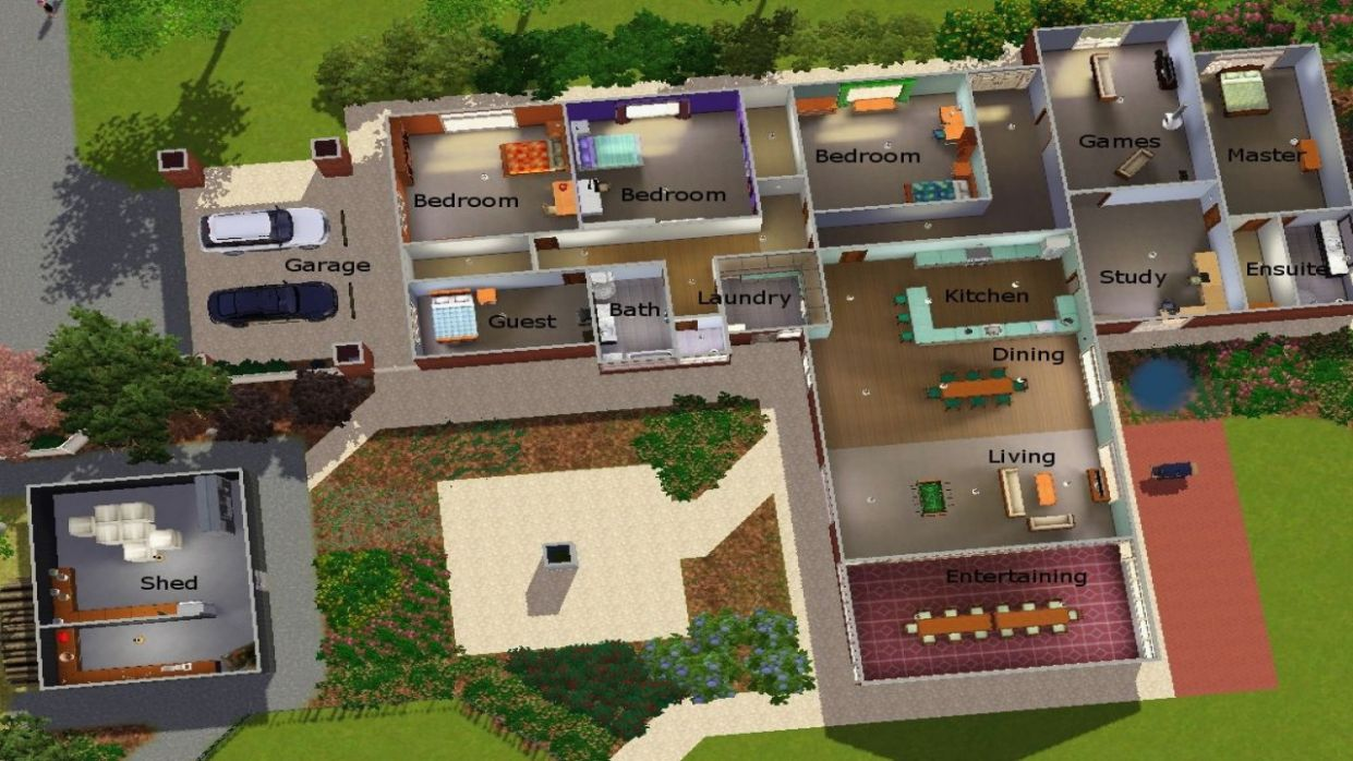 Sims 8 Modern House Floor Plans Lovely 8 S and Inspiration Cool ..