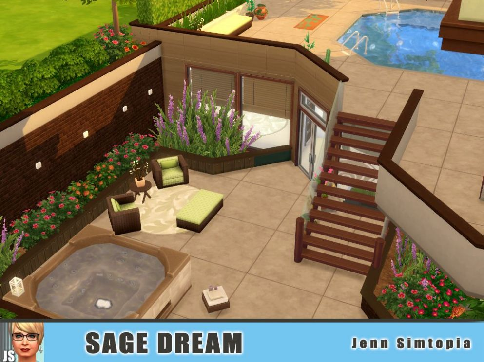 sims 9 houses | Tumblr | Sims house, Sims 9 houses, Sims house design - backyard ideas sims 4