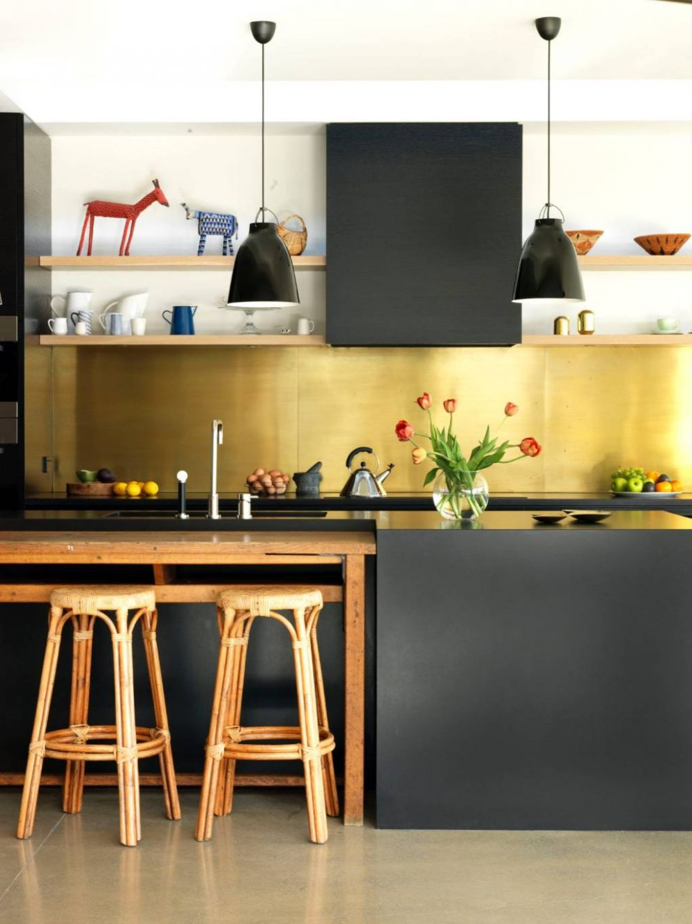 Six cute kitchen splashback ideas | Stuff.co