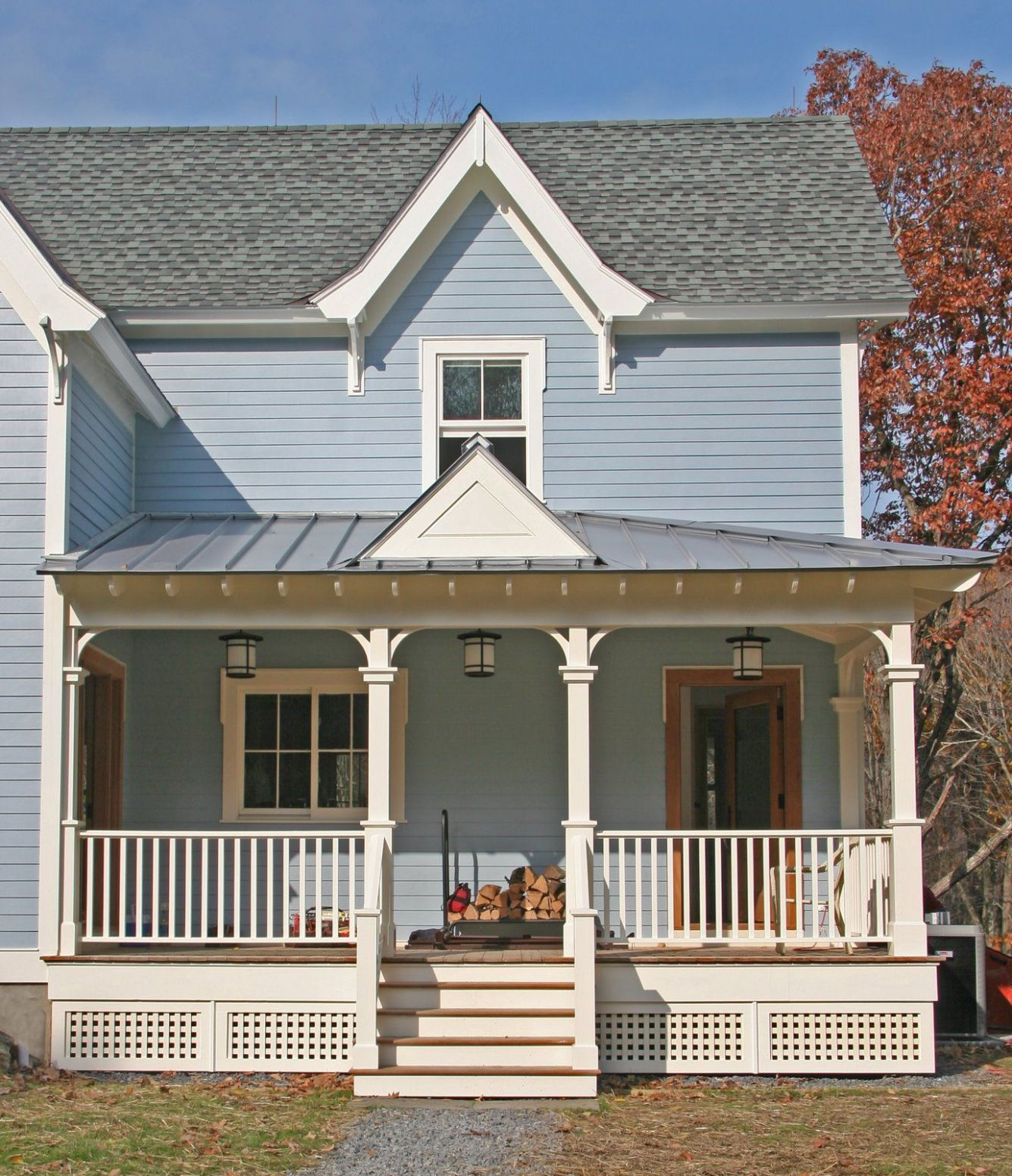 Small Can Be Big (Almost finished) | Farmhouse exterior, House ..