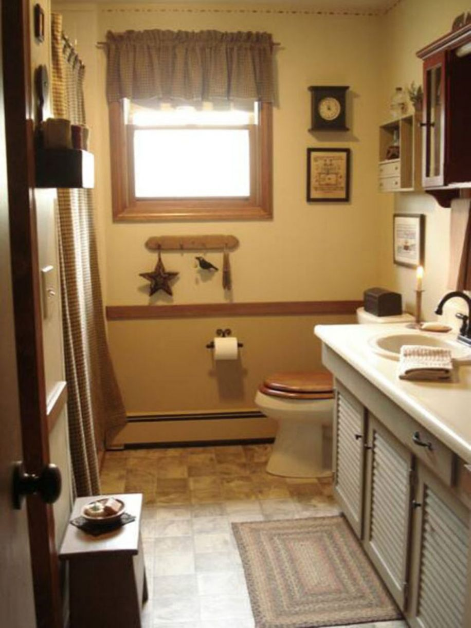 Small Country Style Bathroom Ideas Design French Decorating ...