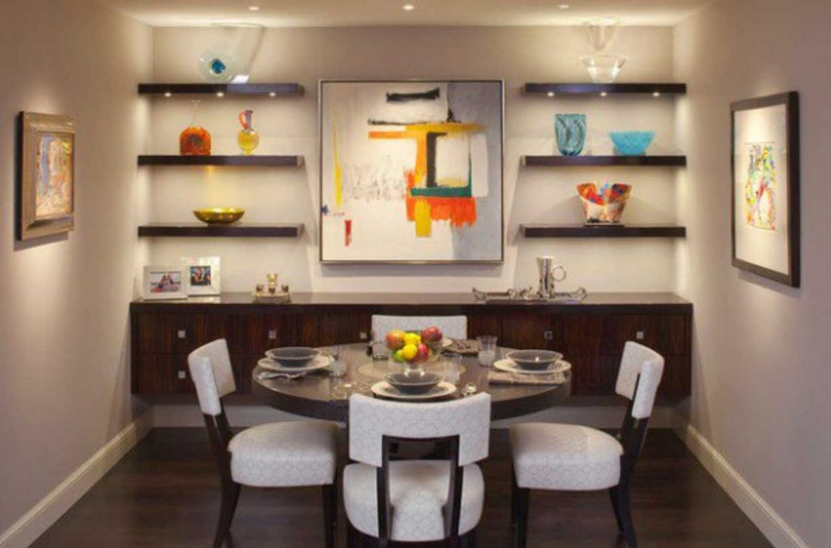 Small Dining Room Decor Ideas for Your Home and Apartment - RooHome - apartment dining room decor ideas