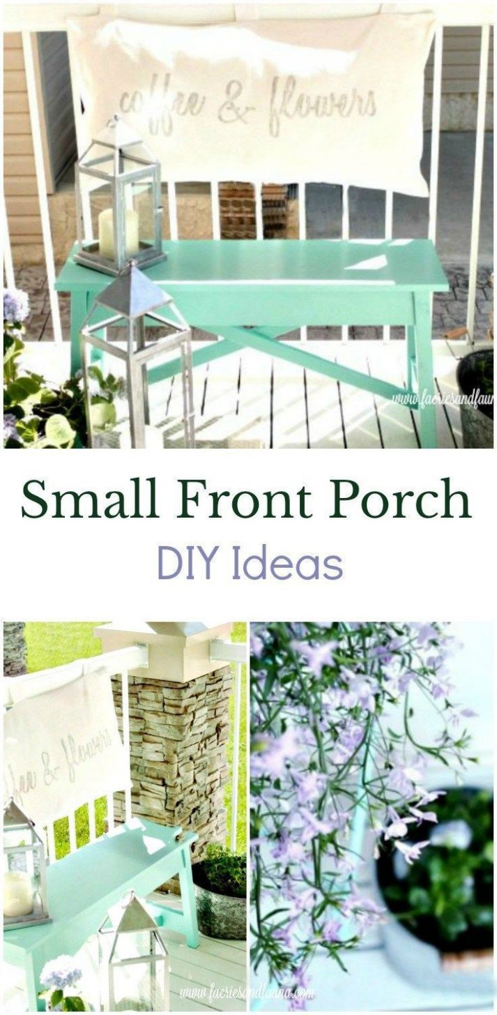 Small Front Porch Ideas - Create a Sitting Area | Small front ..