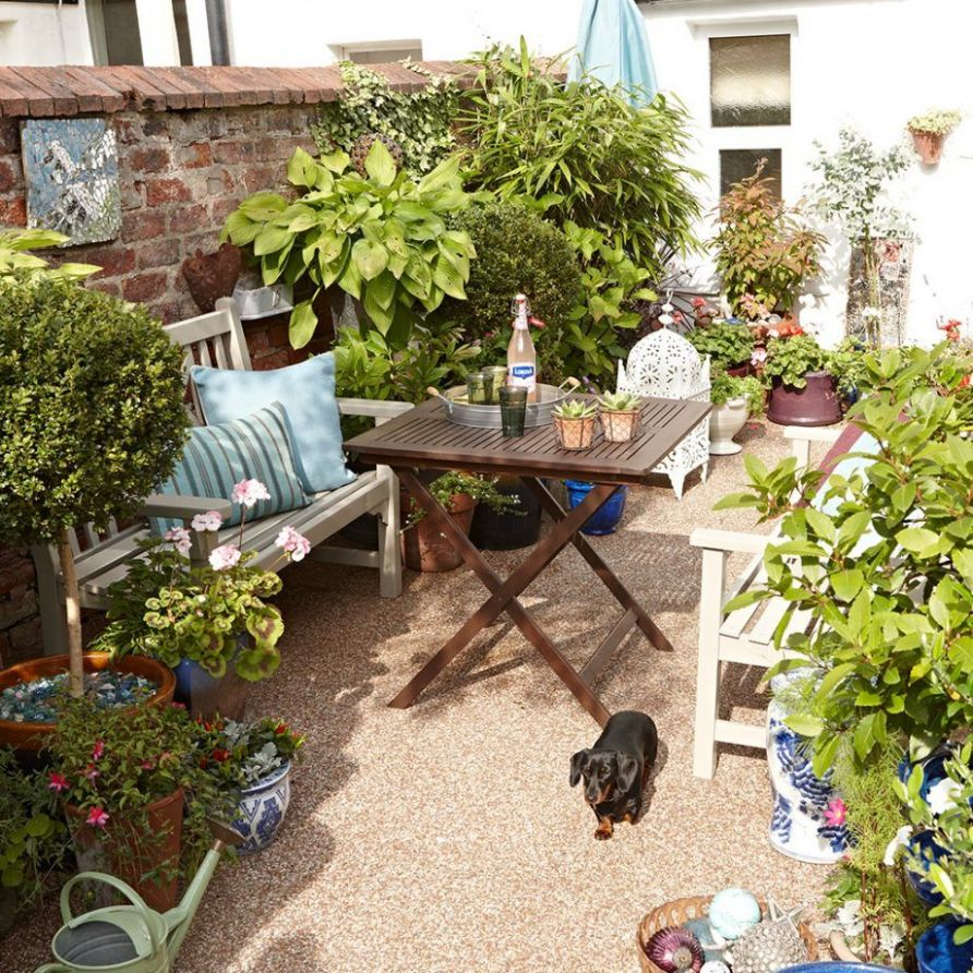 Small garden ideas to make the most of a tiny space | Small ...