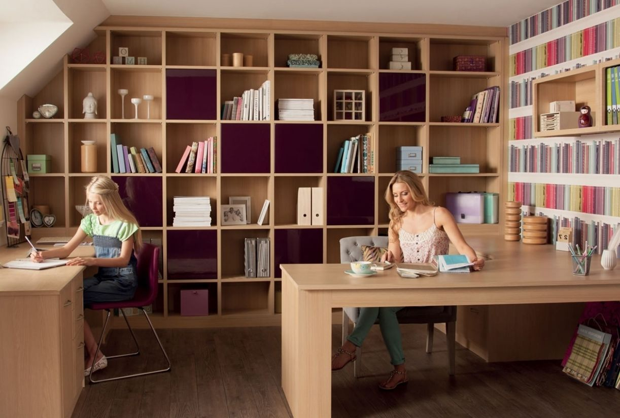 small home office storage home offic office interior decoration ..