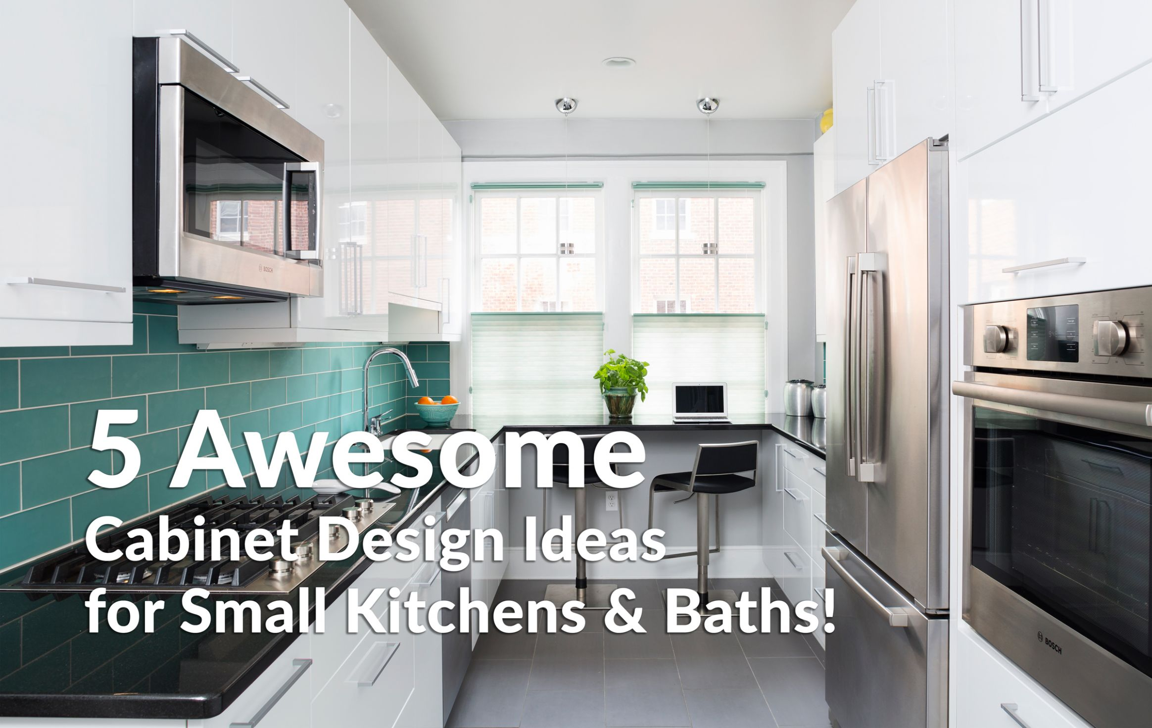 Small Kitchen Ideas to Maximize Your Space & More! - Crystal Cabinets - kitchen ideas small spaces