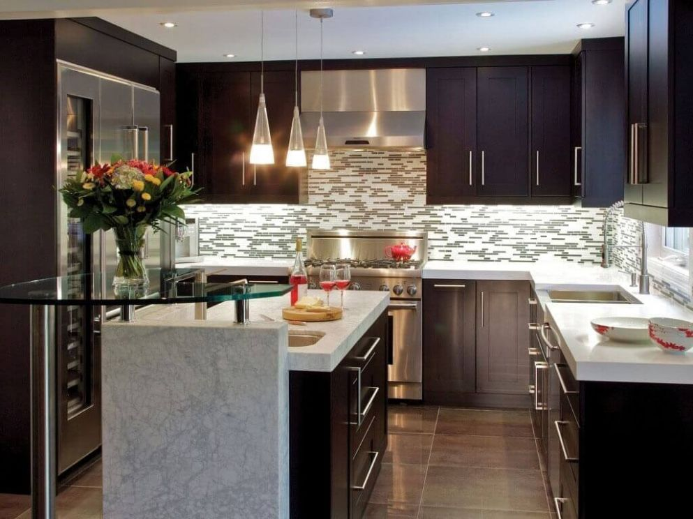 Small Kitchen Remodel Cost Guide – Apartment Geeks - kitchen ideas and costs