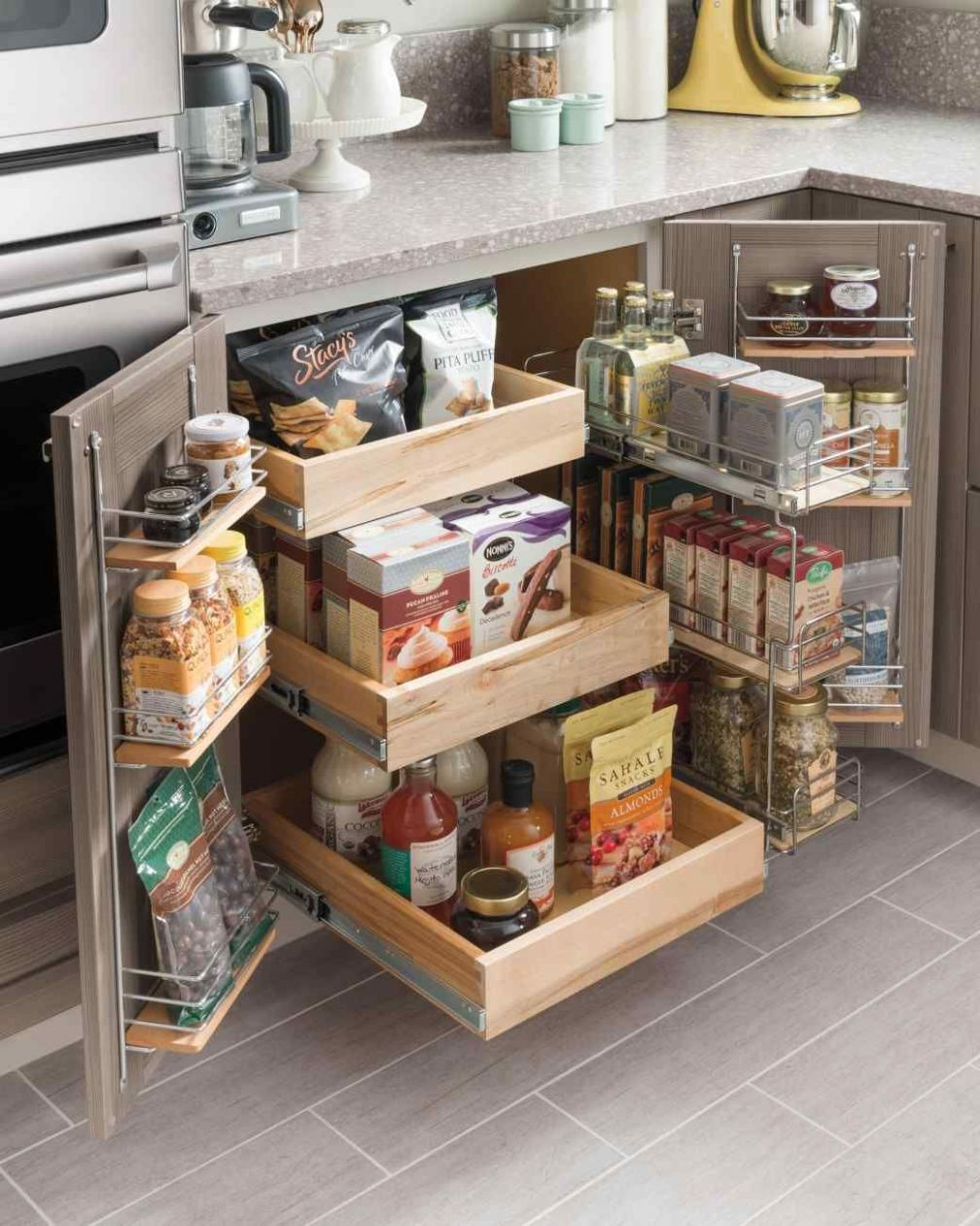 Small Kitchen Storage Ideas for a More Efficient Space | Umbau ..