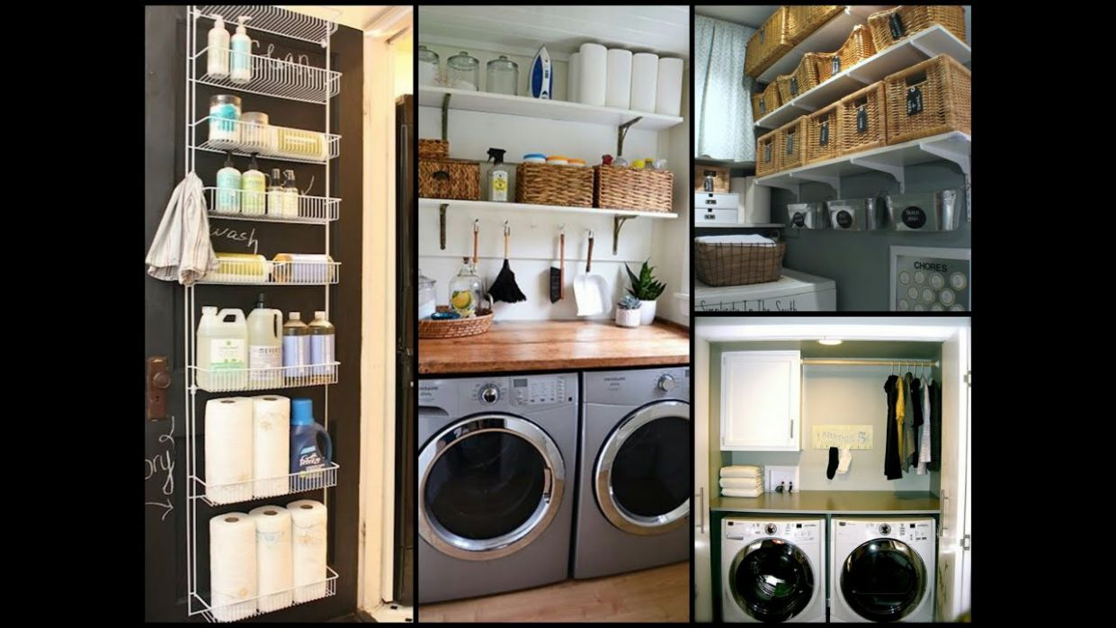 Small Laundry Room Organization Tips - DIY Home Organization Ideas - laundry room organization ideas diy